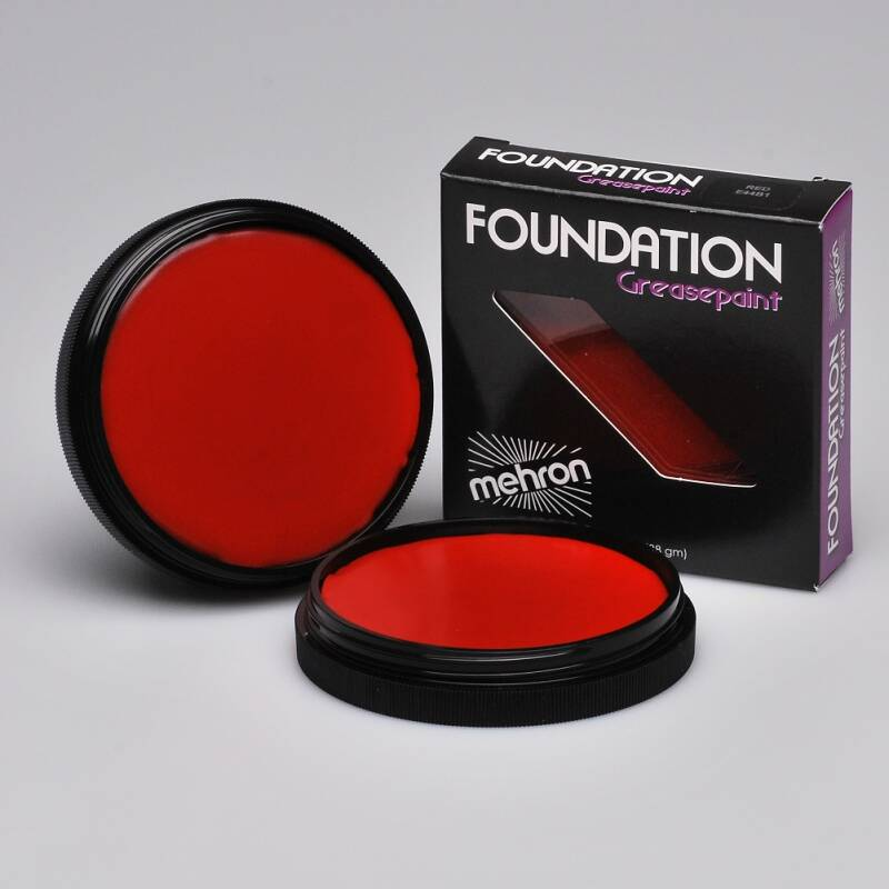 Foundation Greasepaint - Red