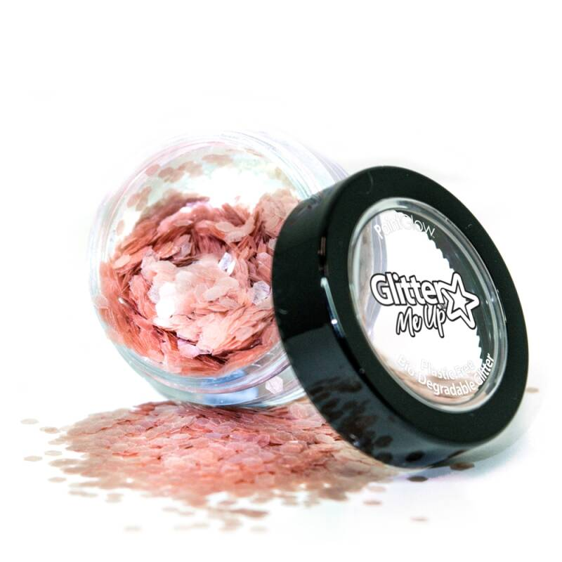 Holographic Chunky Glitter Biodegradable Rose 6 ml