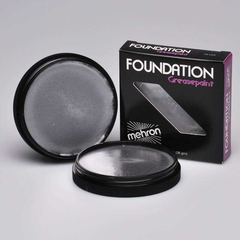 Foundation Greasepaint - Silver