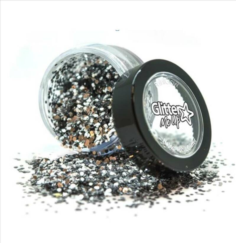 Holographic Chunky Glitter Biodegradable Snowdrop 6 ml