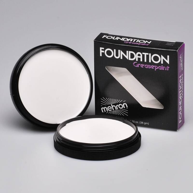 Foundation Greasepaint - White