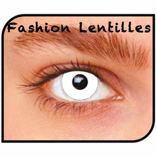 Maandlenzen Fashion Lentilles - White Out