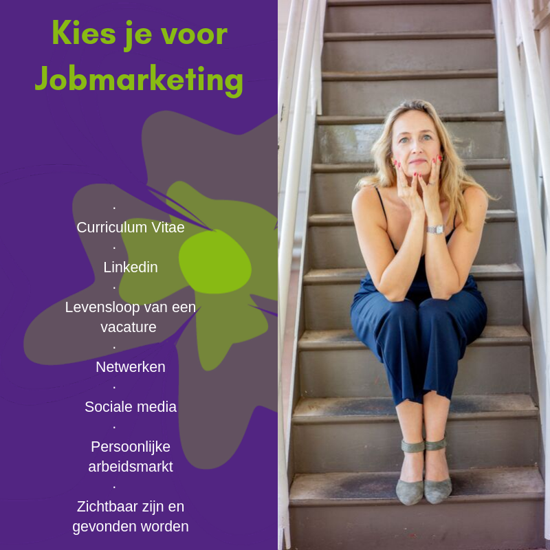 Jobmarketingtraject particulier