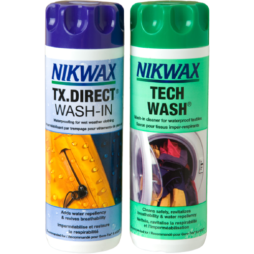 Nikwax Twinpack Tech Wash en TX.Direct Wash-In