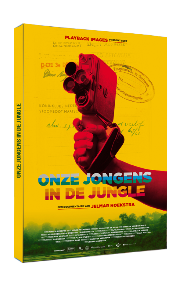DVD Onze jongens in de jungle