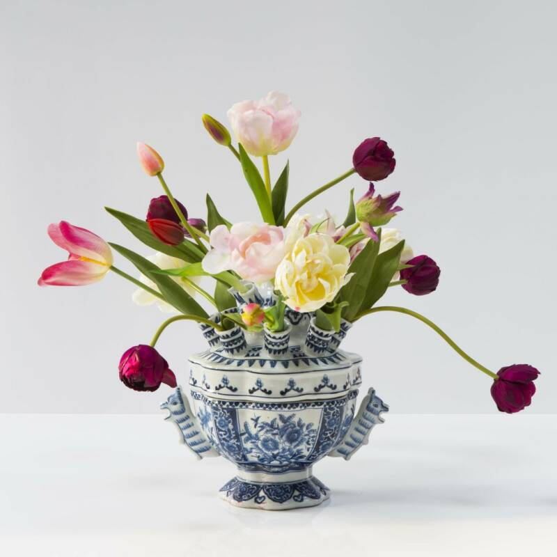 Tulip vase with tulips II