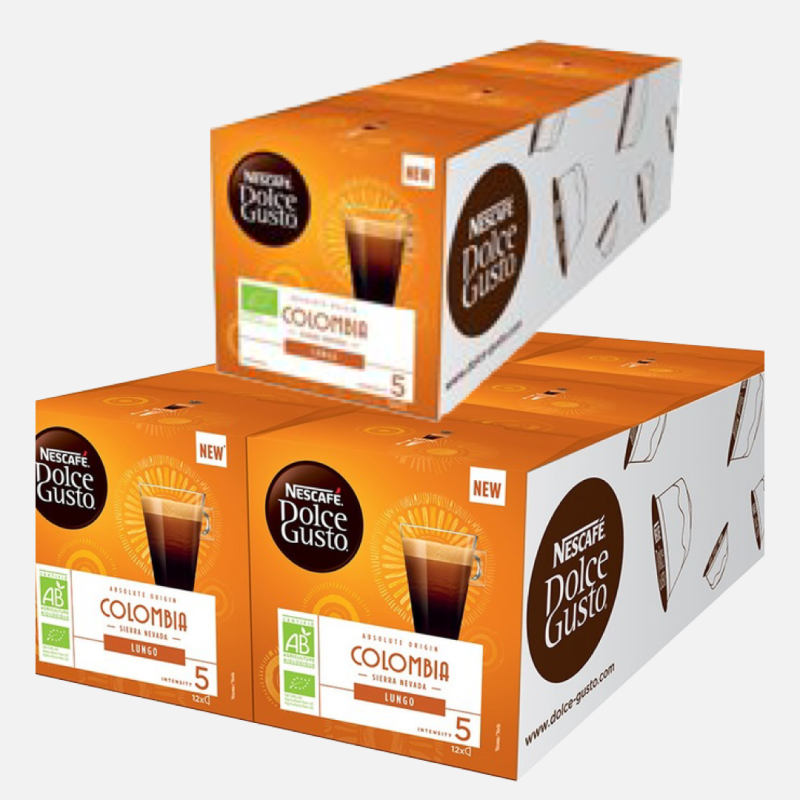 Dolce Gusto Colombia lungo 3x36 cups
