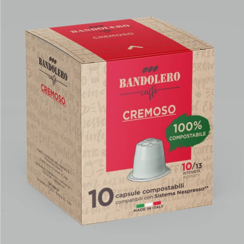 Bandolero Cremoso cups. Intensiteit 10 van 13.