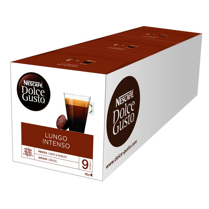 Dolce Gusto Lungo intenso 48 cups
