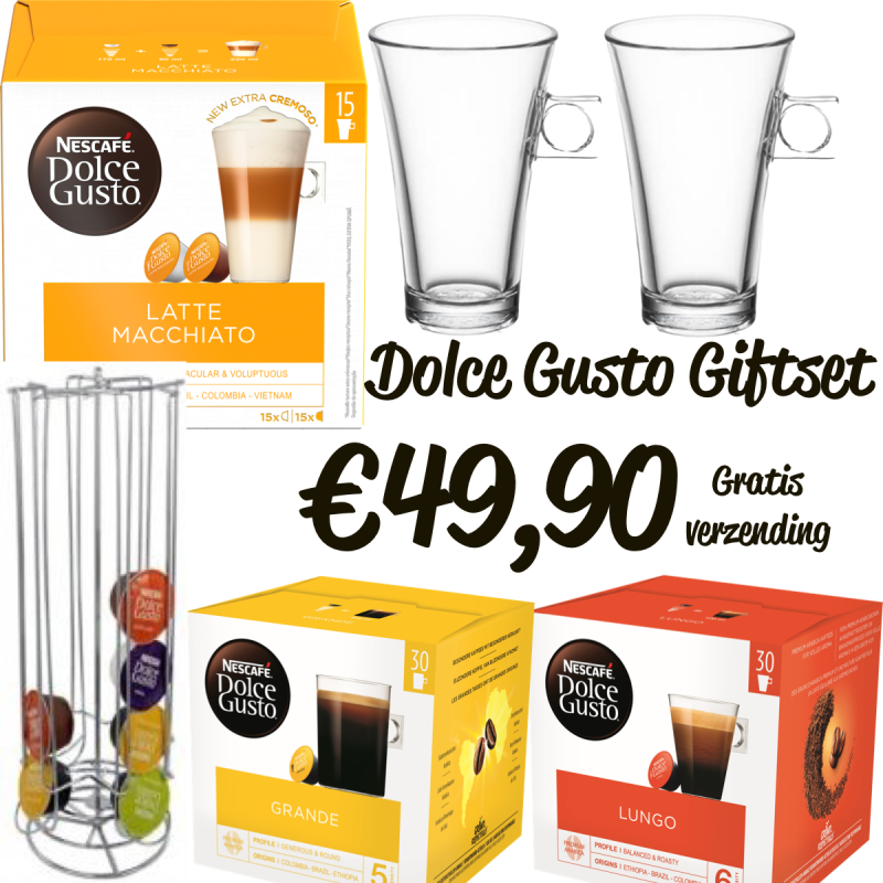 Luxe Dolce Gusto gift set