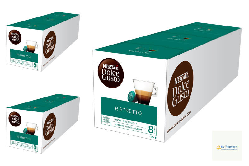 Dolce Gusto Ristretto 3x48 cups