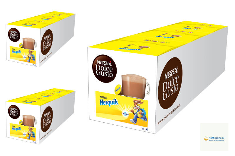 Dolce Gusto Nesquik 3x48 cups