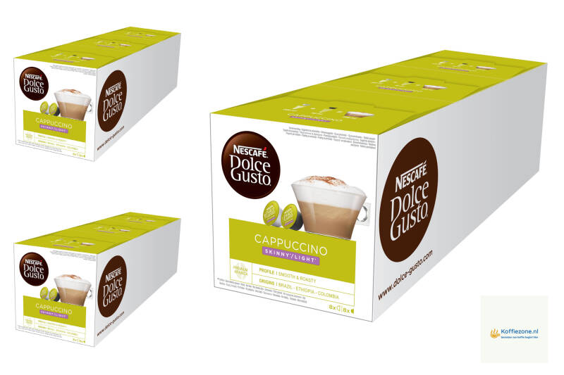 Dolce Gusto Cappuccino Light 3x48 cups