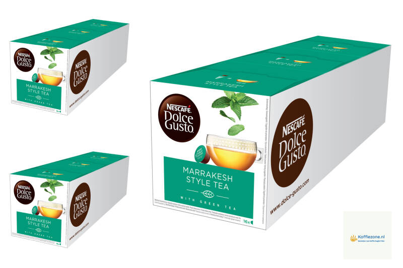 Dolce Gusto Marrakesh Tea 3x48 cups
