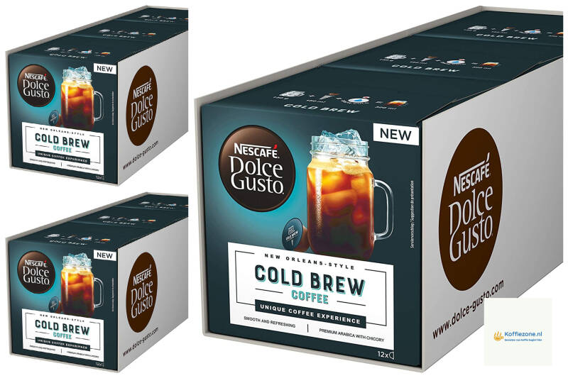 Dolce Gusto Cold brew 3x36 cups