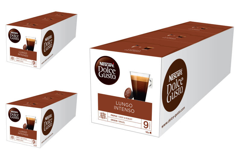 Dolce Gusto Lungo intenso 3x48 cups