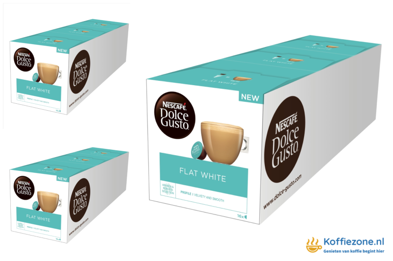 Dolce Gusto Flat white 3x48 cups