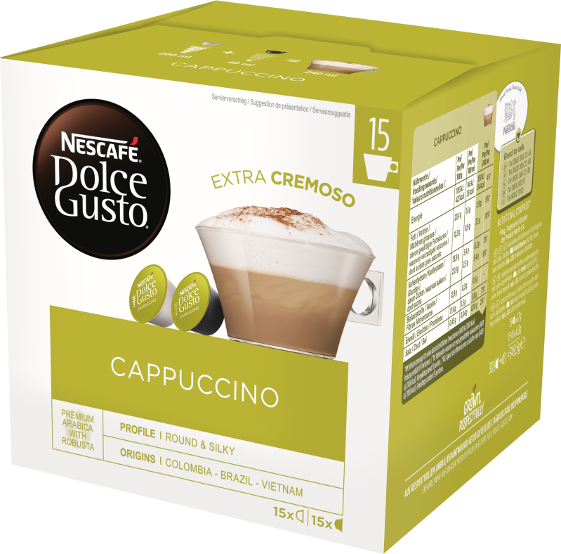 Cappuccino 30 cups