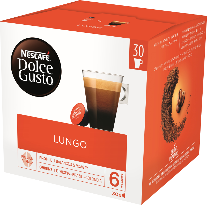 Lungo 30 cups
