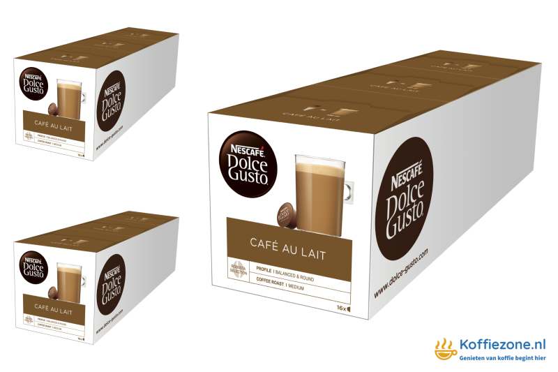 Dolce Gusto Cafe au Lait 3x48 cups