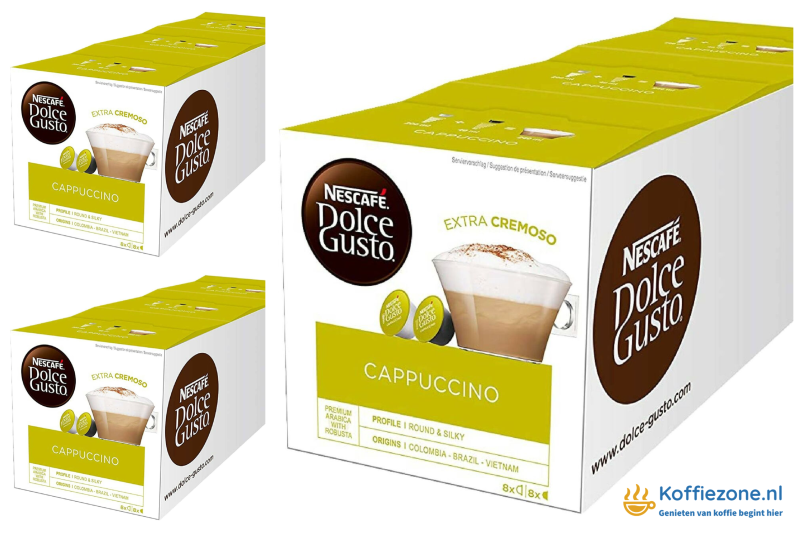 Dolce Gusto Cappuccino 3x48 cups