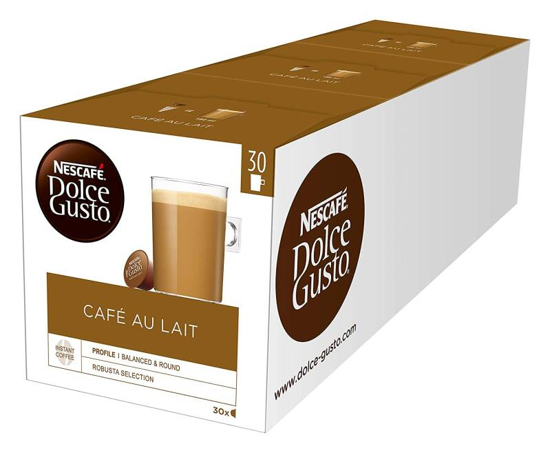 Dolce Gusto Cafe au Lait 90 cups