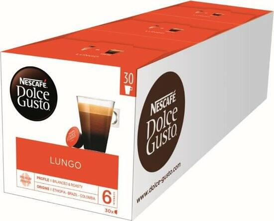 Dolce Gusto Lungo 90 cups