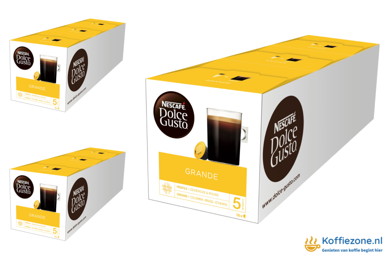 Dolce Gusto Grande 3x48 cups