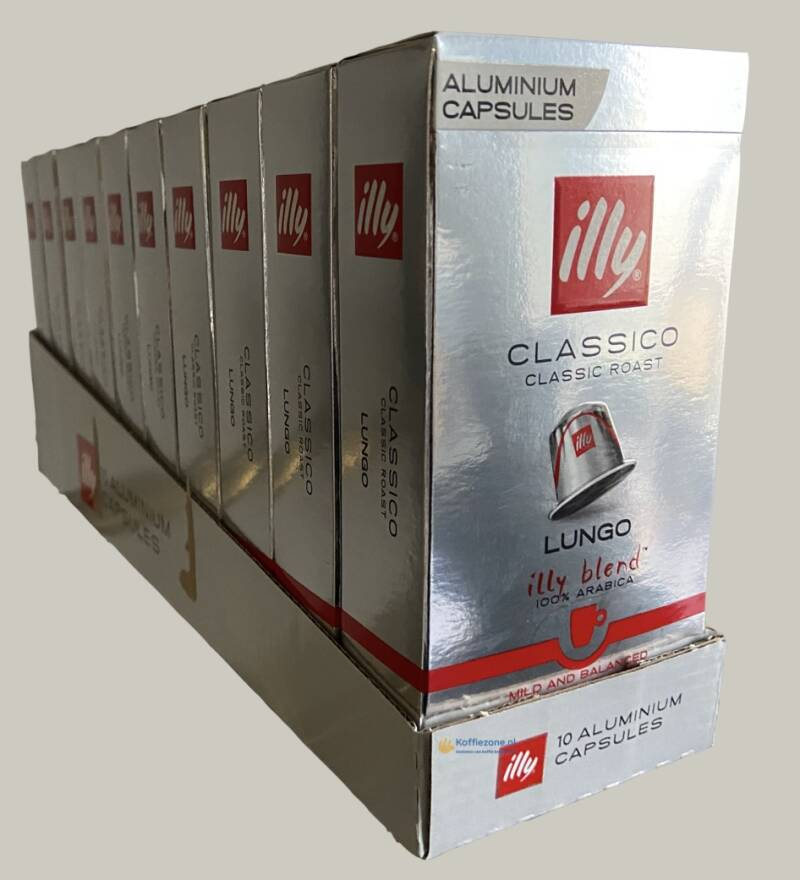 illy Lungo  classico 100 koffiecups