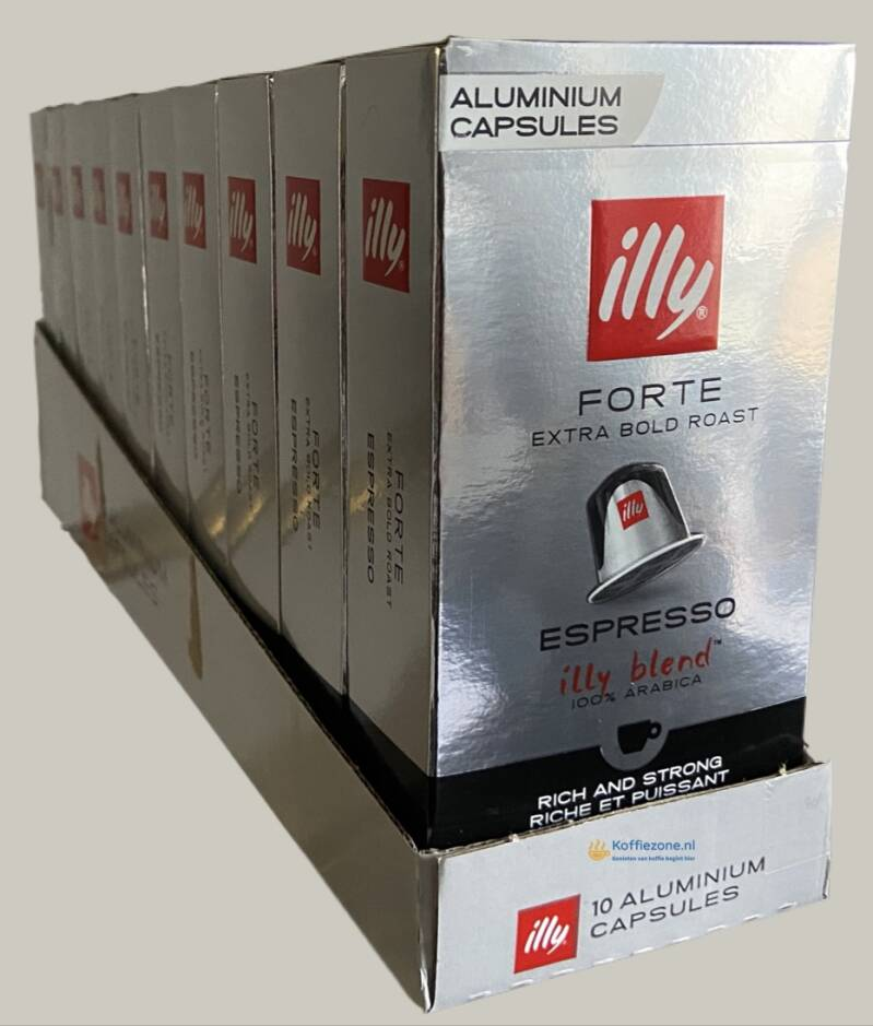 illy espresso cups forte 100 cups