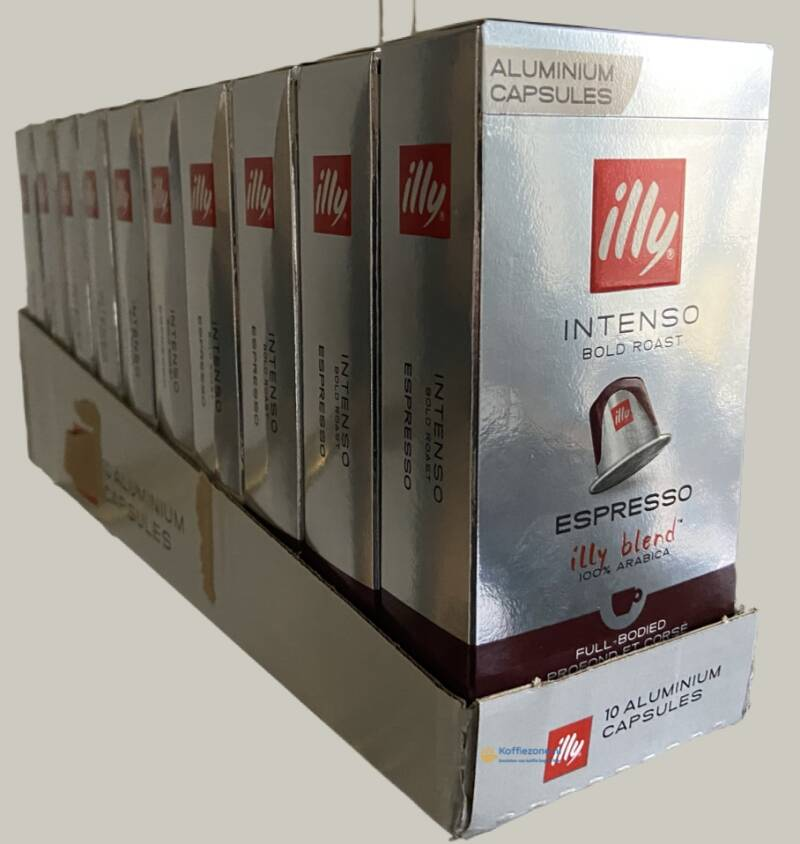 illy espresso intenso 100 cups