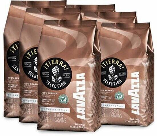 Lavazza Tierra koffiebonen 6kg Rainforest Certified