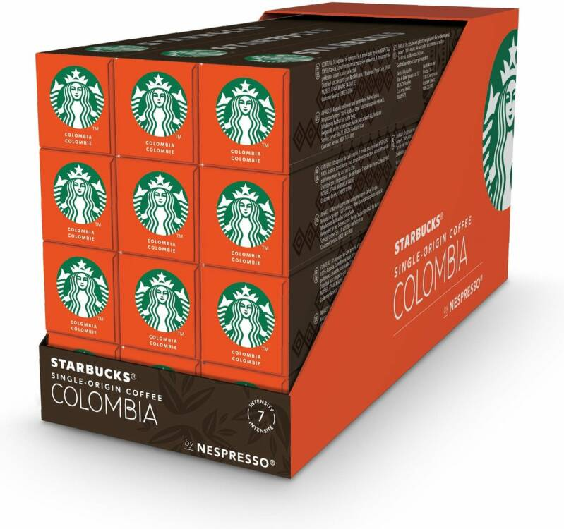 Starbucks Colombia doos 120 cups