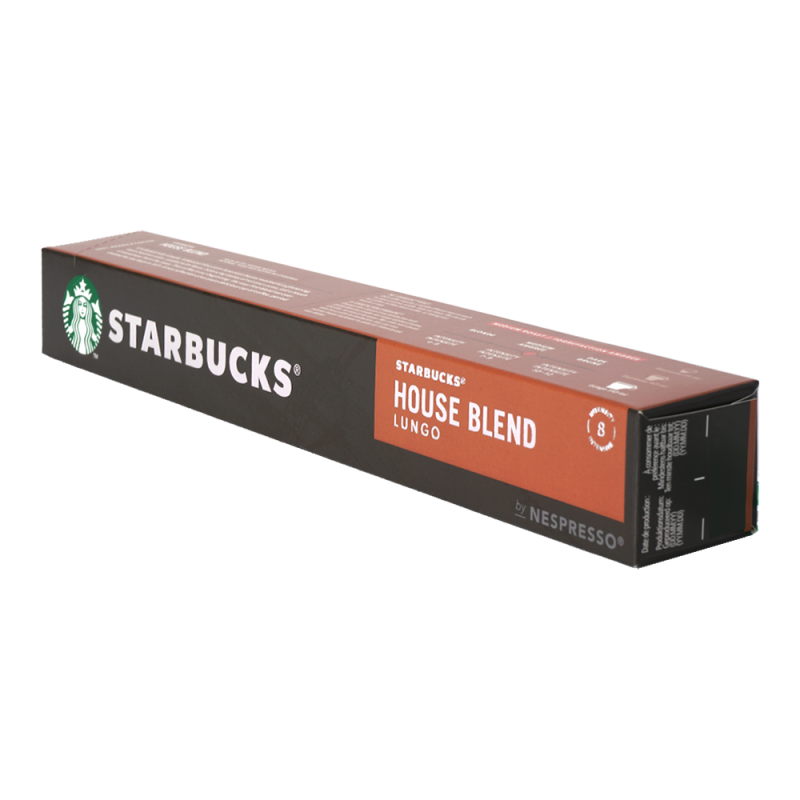 Starbucks Lungo House Blend 10 cups