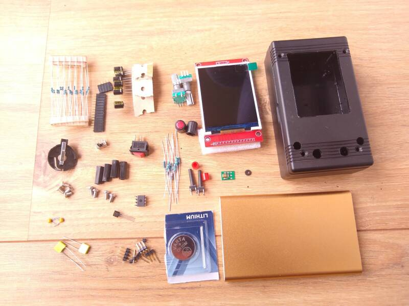Near complete kit (No Teensy materials included)