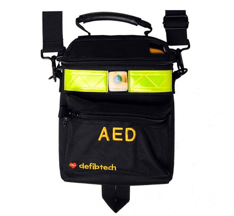 Draagtas Defibtech LifeLine View AED