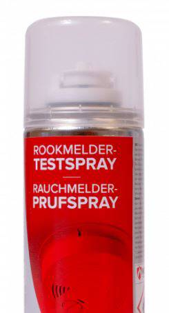 Rookmelders test spray