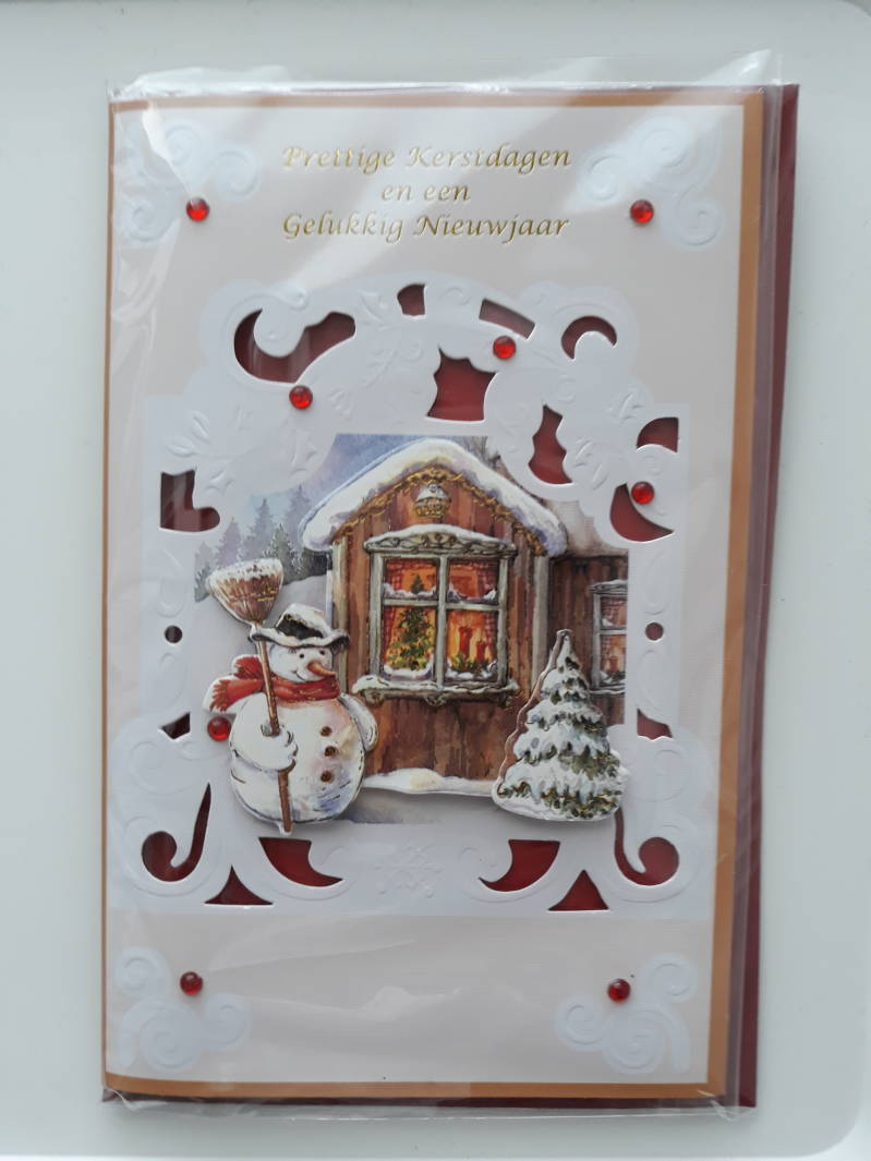 Christmas Card 3D Handmade 2