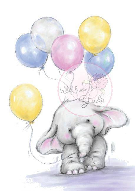 CL227 - Bella with Balloons