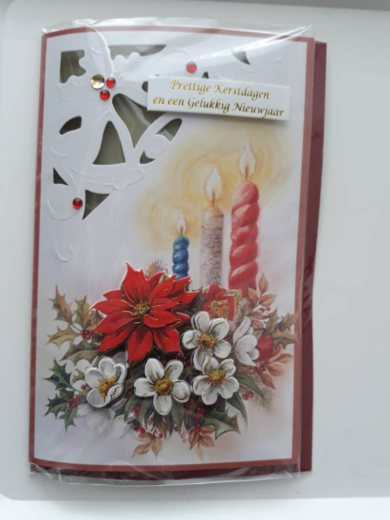 Christmas Card 3D Handmade 5