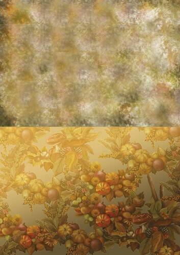 BGS10010 - Backgroundsheets - Amy Design - Autumn Moments - Forest Fruits