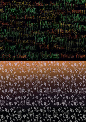 BGS10012 - Backgroundsheets - Yvonne Creations - Happy Halloween