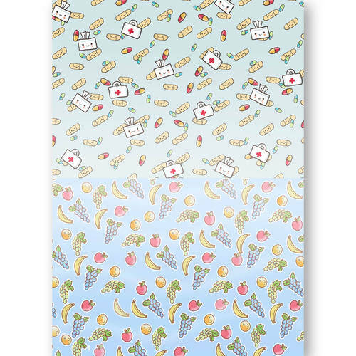 BGS10035 - Background Sheets - Yvonne Creations - Get Well Soon