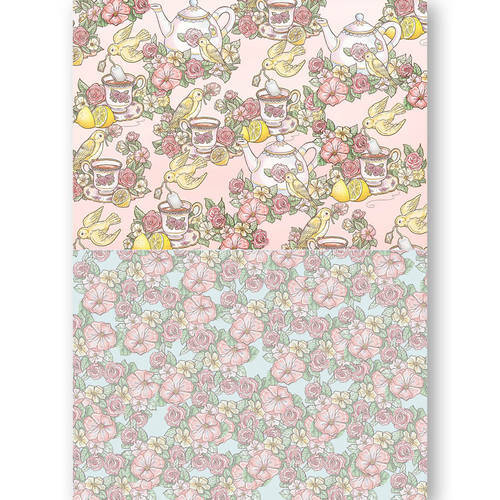 BGS10036 - Background Sheets - Yvonne Creations - Get Well Soon