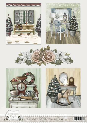 CD10540 - 3D Knipvel - Amy Design - Brocante Christmas - Pictures