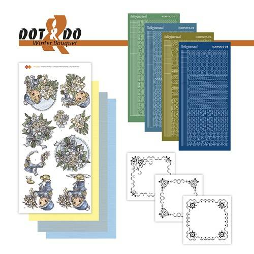 DODO025 - Dot & Do 25 - Winterflowers