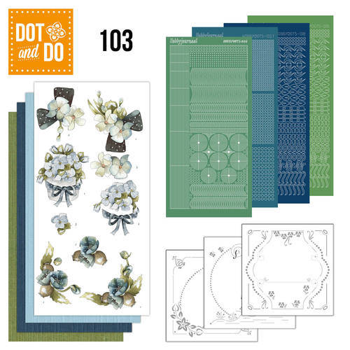 DODO103 - Dot & Do 103 - Fantastic flowers