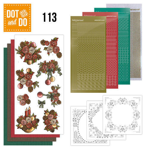 DODO113 - Dot & Do 113 - Christmas Flowers