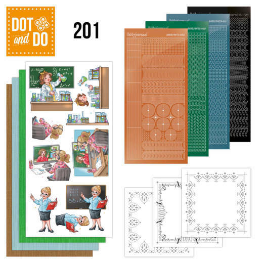 DODO201 - Dot and Do 201 - Yvonne Creations - Bubbly Girls - Professions