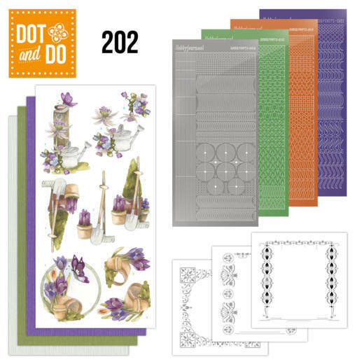 DODO202 - Dot and Do 202 - Precious Marieke - Beautiful Garden - Butterfly